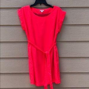 Lovely Coral Summer Dress from Gap